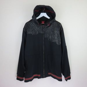 hot sale online d1b9e 30886 Nike · Nike Air Jordan Black Zip Up Hoodie